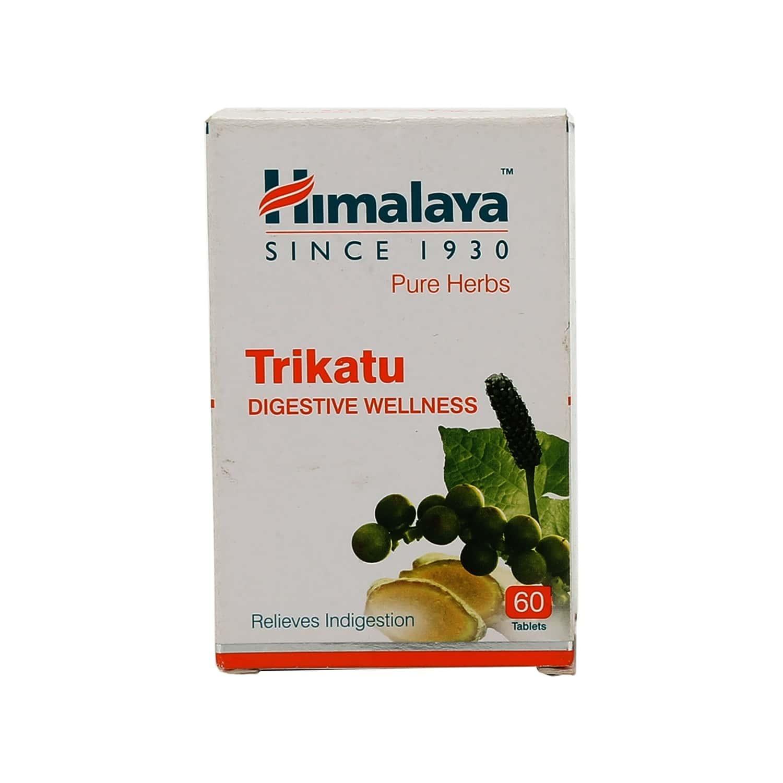Himalaya Wellness Pure Herbs Trikatu Digestion Capsules Bottle Of 60