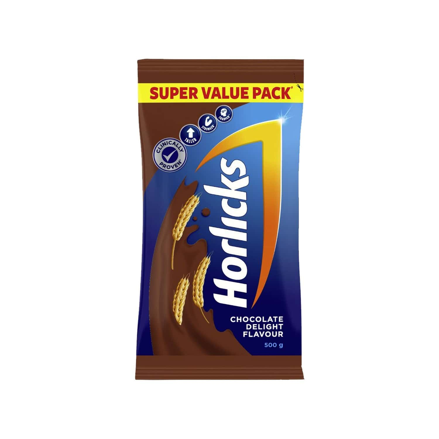 Horlicks Chocolate Nutrition Drink Refill Of 500 G