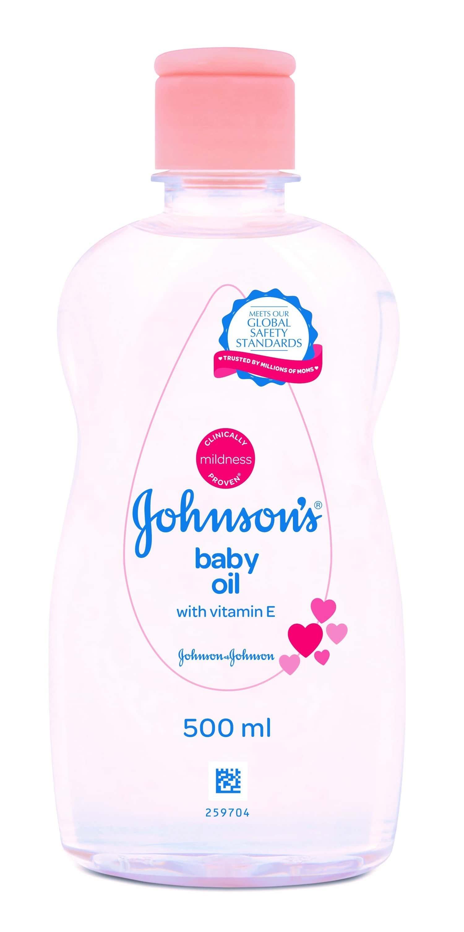 Johnson's Baby Oil - 500ml
