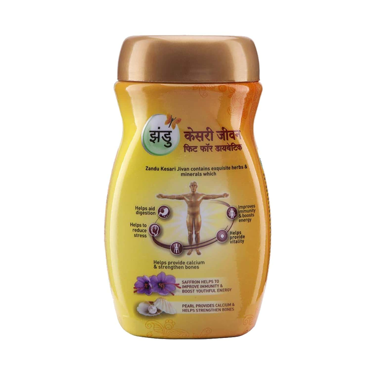 Zandu Kesari Jivan Sugar Free Health Food Bottle Of 450 Gm