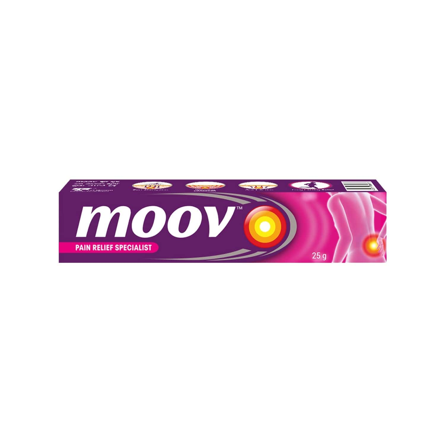 Moov  Pain Reliever Gel  Tube Of 15 G