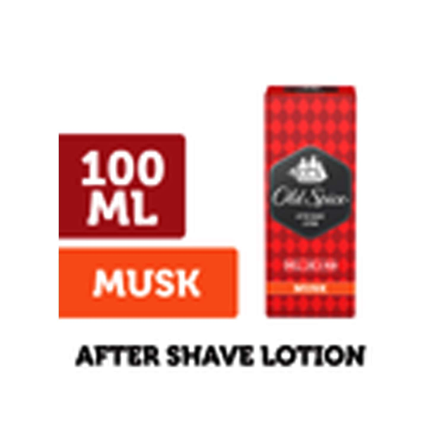 Old Spice After Shave Lotion (musk) - 100ml