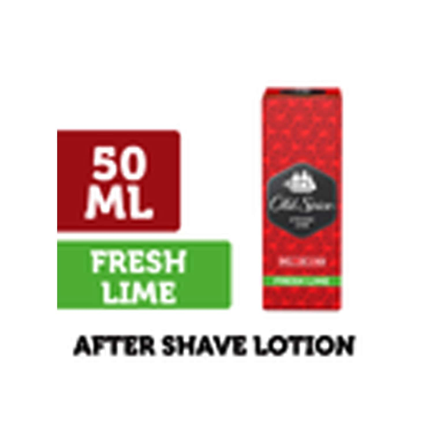 Old Spice After Shave Lotion (fresh Lime) - 50ml