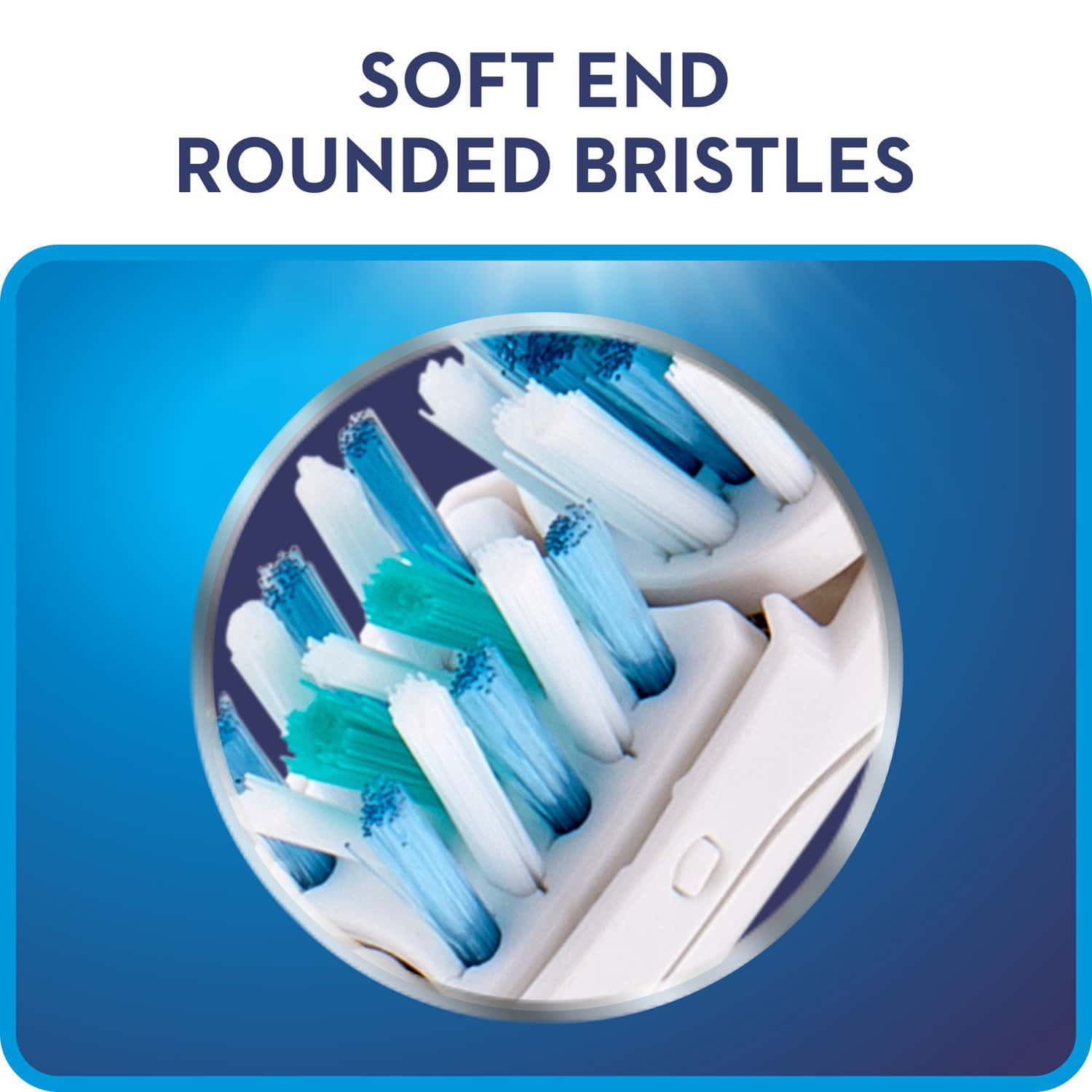 Oral-b Power Crossaction Power Toothbrush Replacement Head ( Soft ) - 1