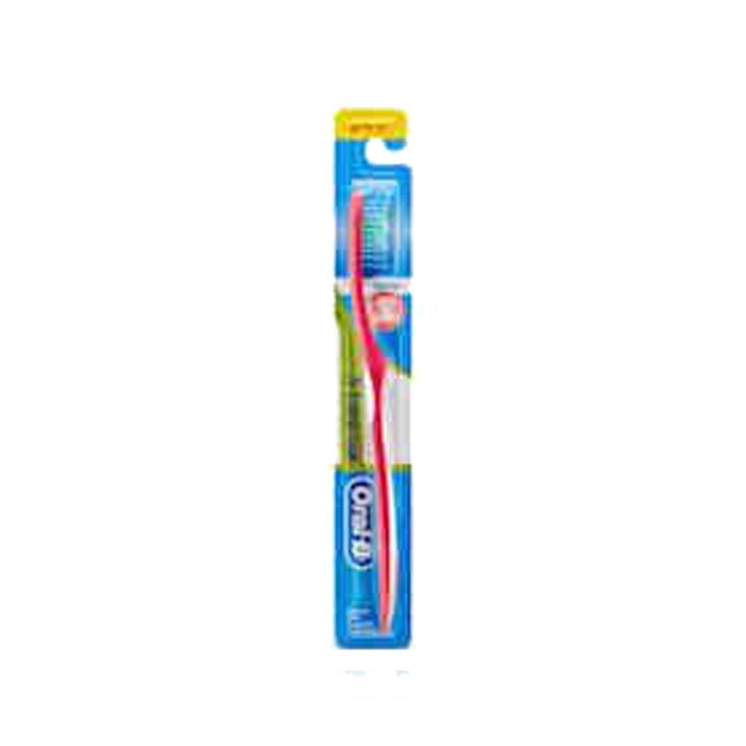 Oral-b Fresh Clean Toothbrush Medium 1 Piece