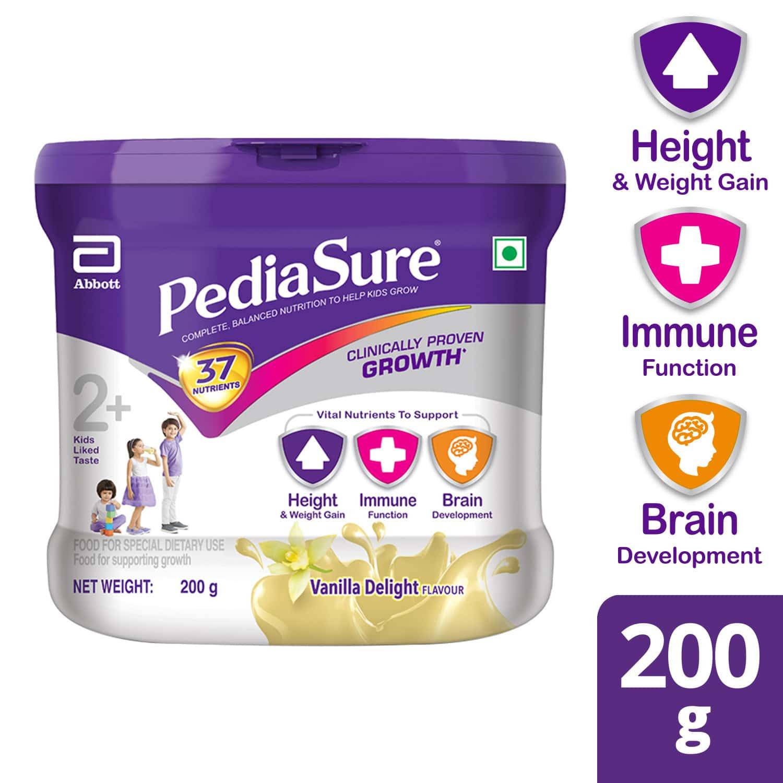 Pediasure Vanilla Child Nutrition Drink Jar Of 200 G