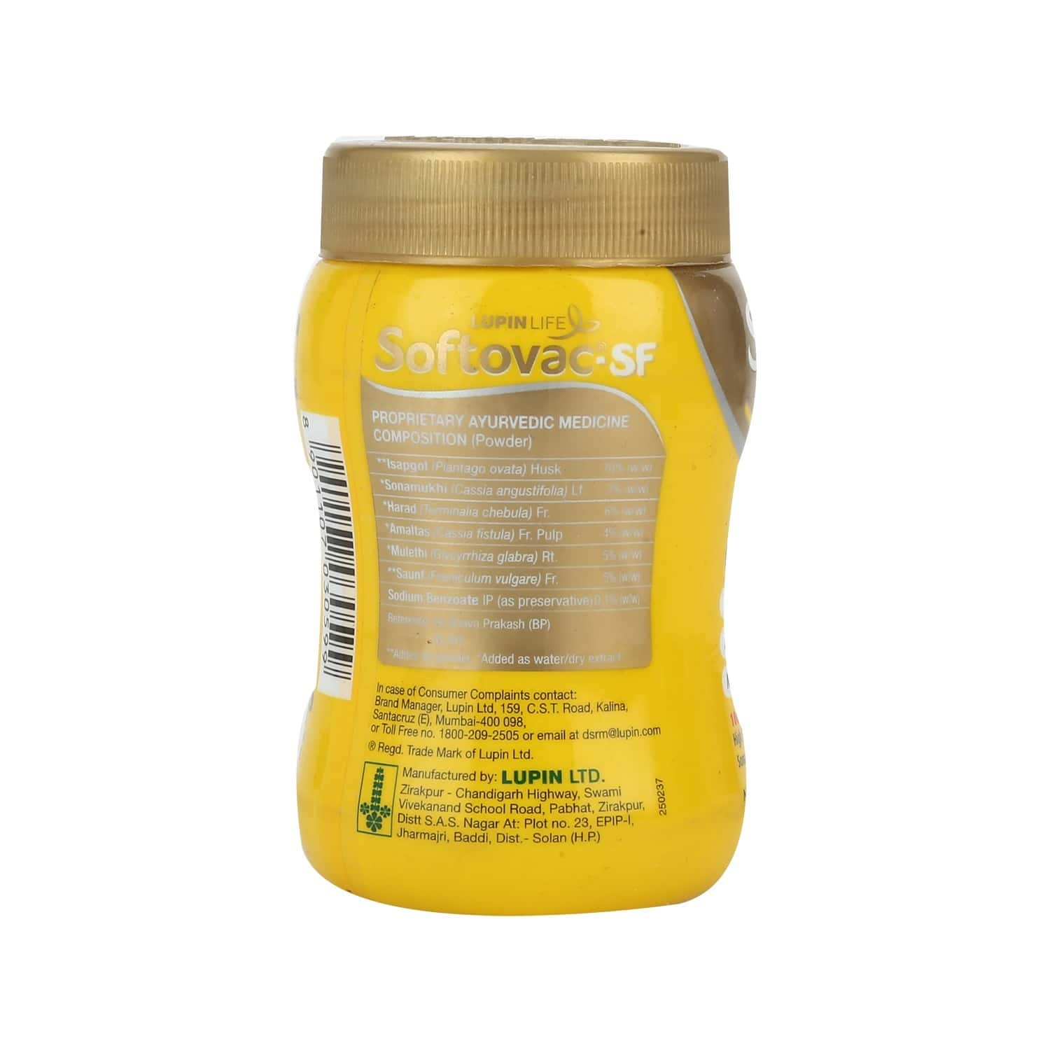 Softovac Sf Constipation Powder Bottle Of 100 G