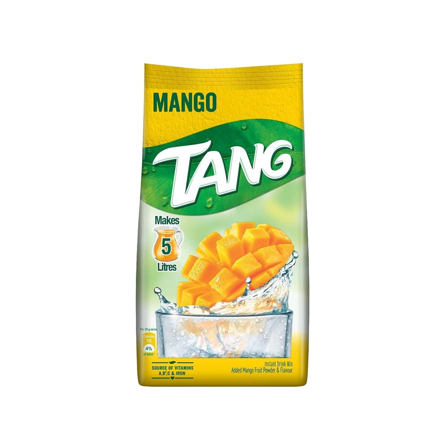 Tang Mango Instant Drink Mix Packet Of 500 G