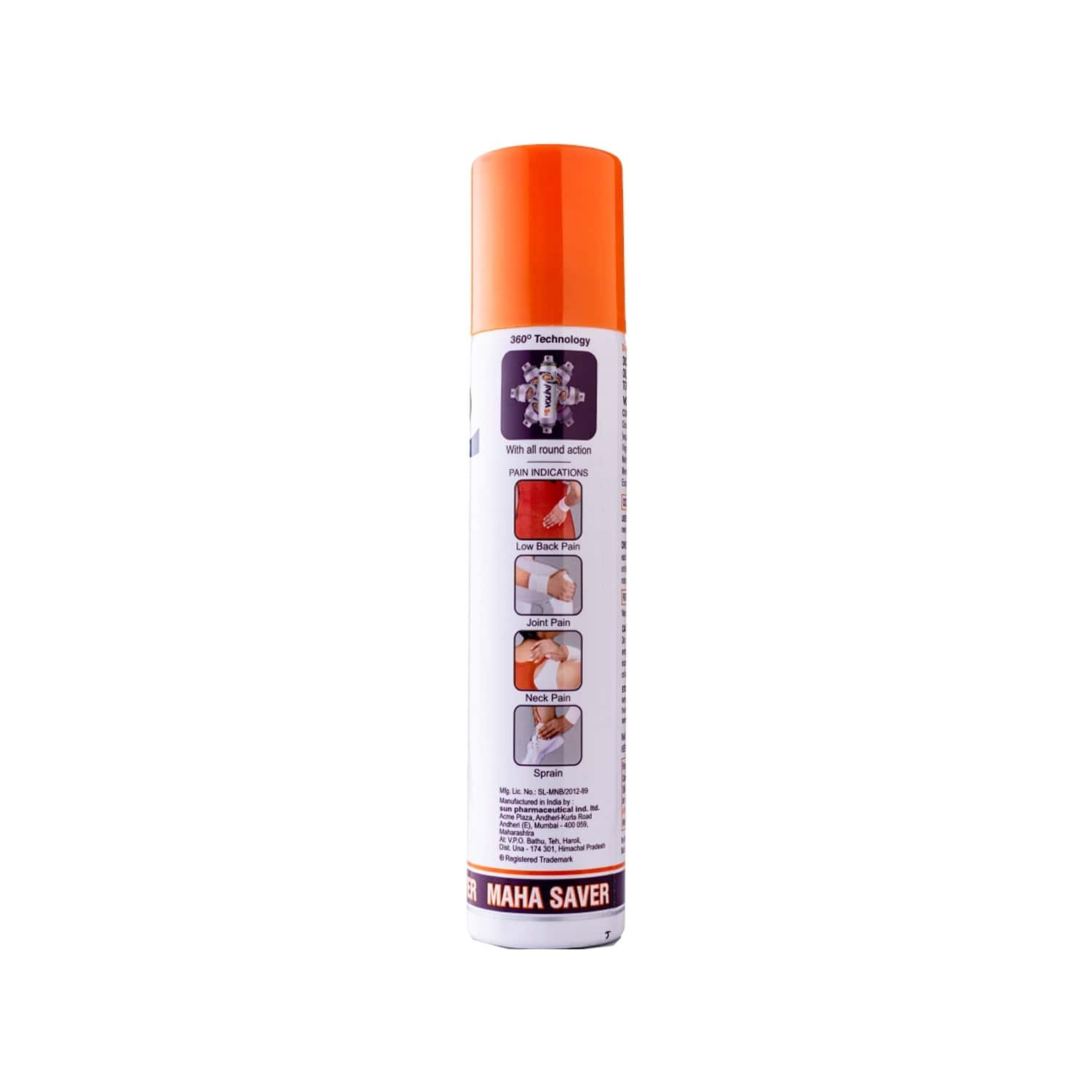 Volini Pain Relief Spray Bottle Of 100 G