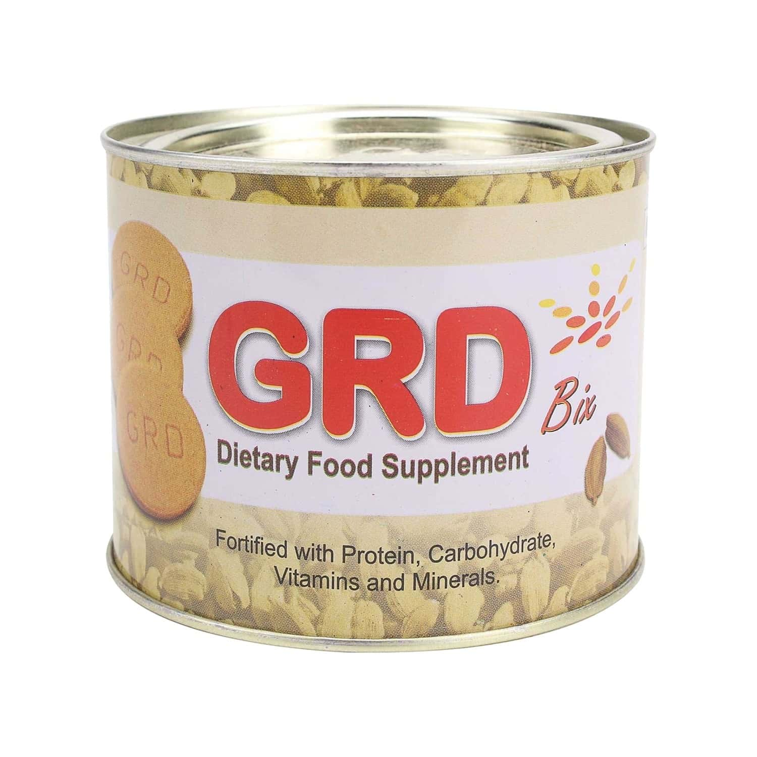 Grd Bix Nutrition Biscuits Tin Of 250 G