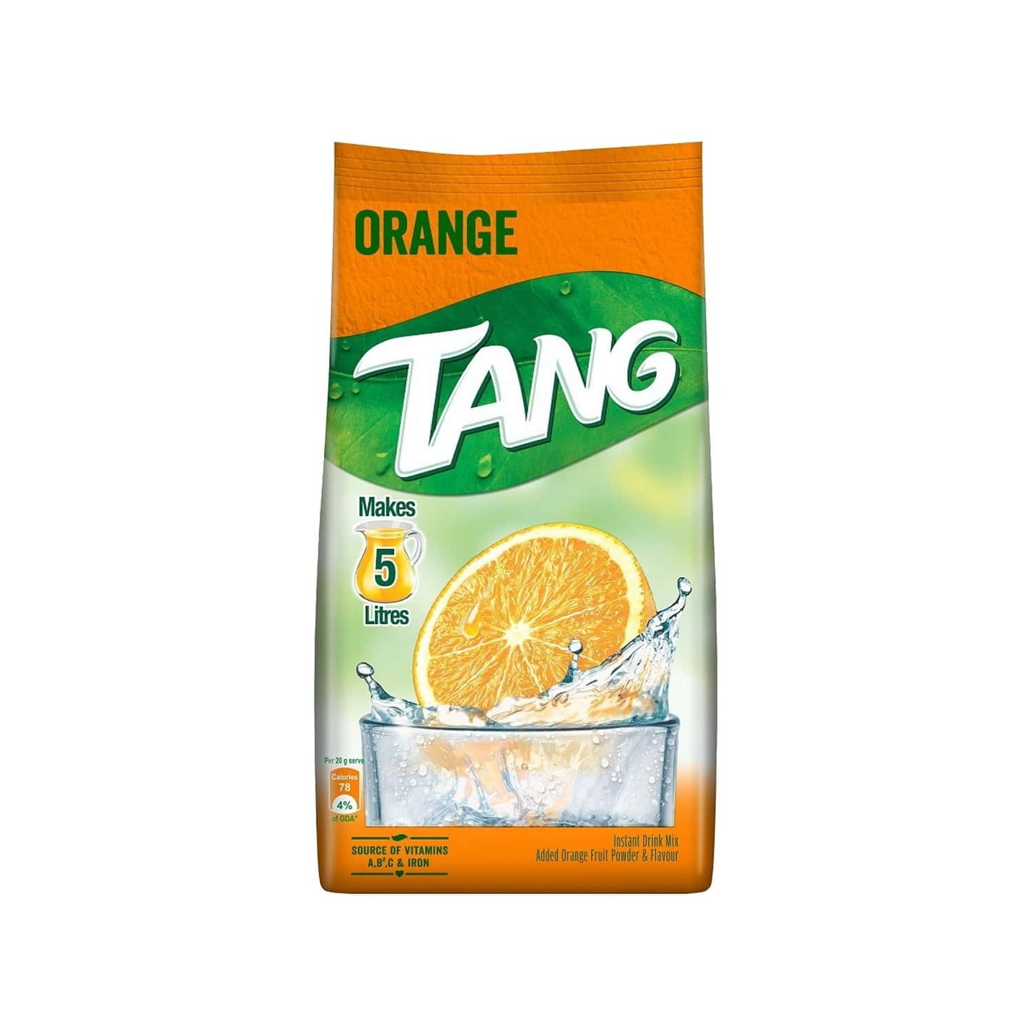 Tang Orange Instant Drink Mix Packet Of 500 G
