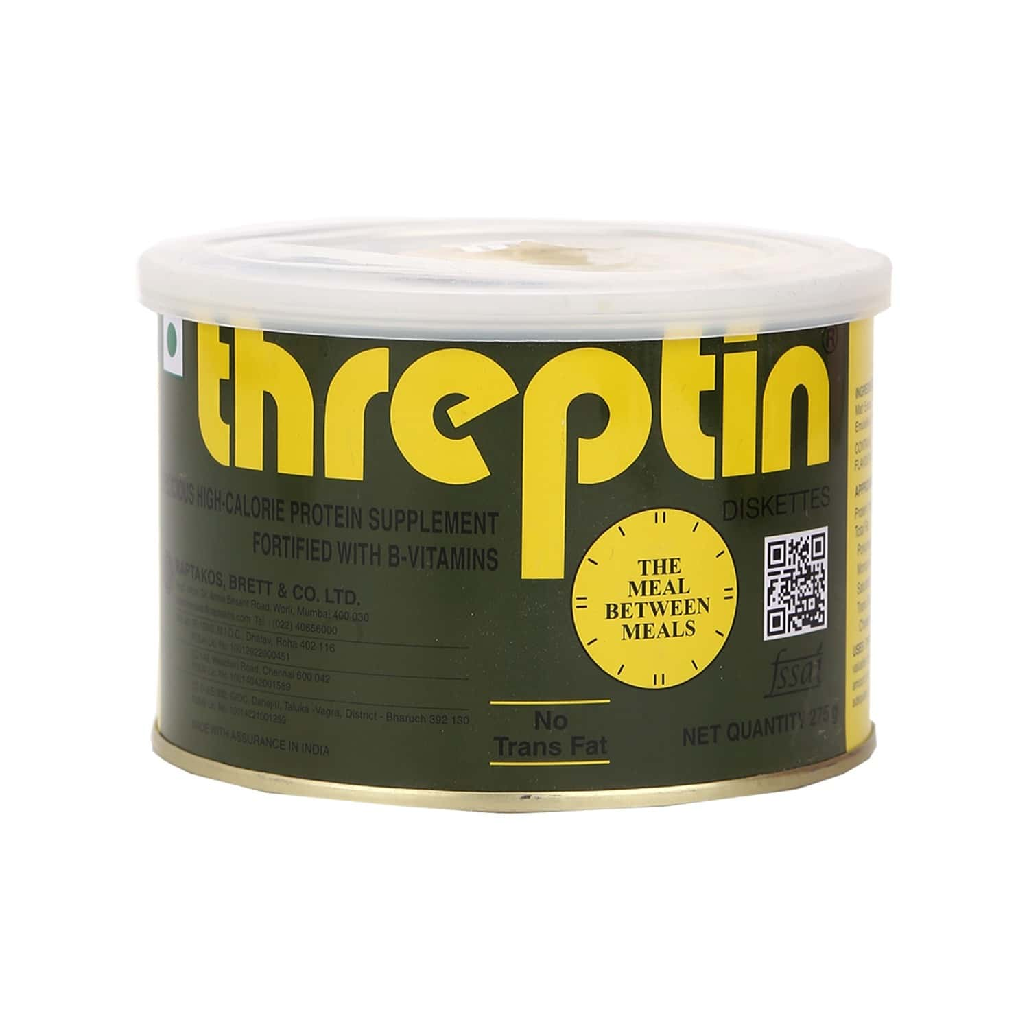 Threptin Nutrition Biscuits Tin Of 275 G