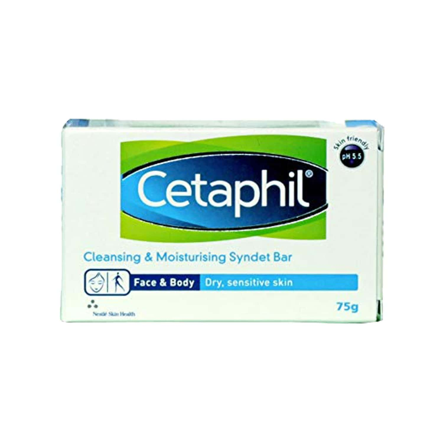 Cetaphil Cleansing And Moisturising Syndet Bar - 75g