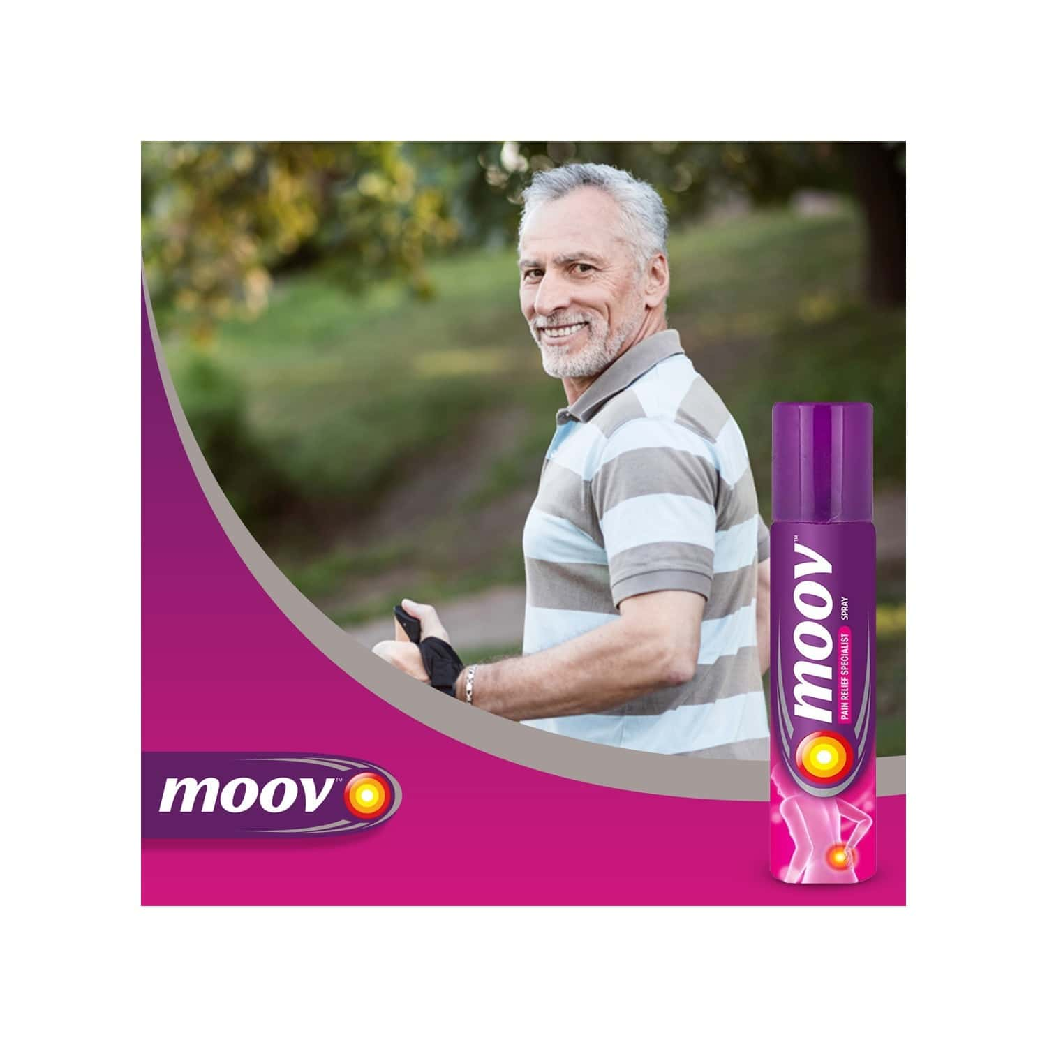 Moov Pain Relief Spray Bottle Of 35 G