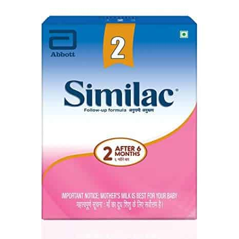 Similac Stage 2 Follow-up Infant Formula (after 6 Months) Refill - 400gm