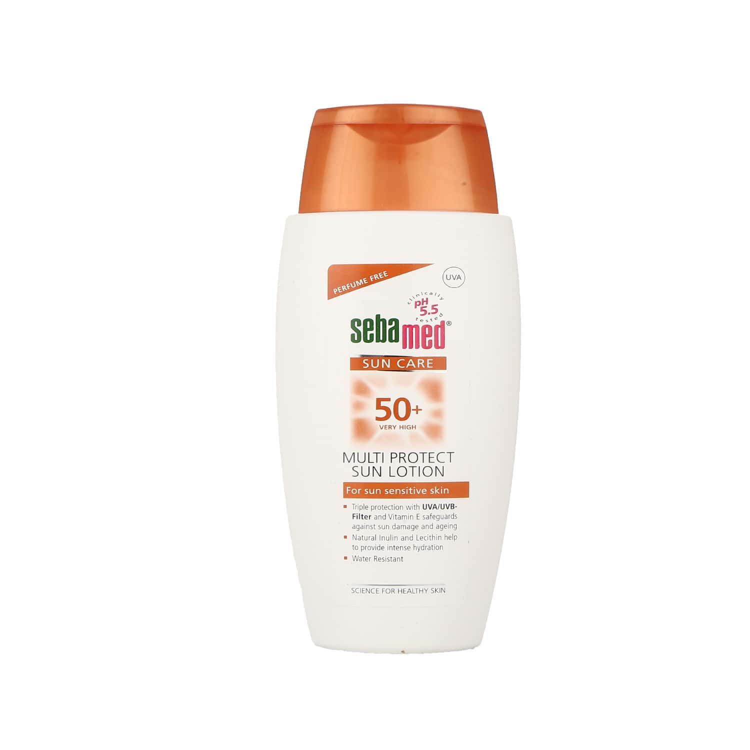 Sebamed Suncare  Sunscreen Lotion Spf 50 + Bottle Of 150 Ml