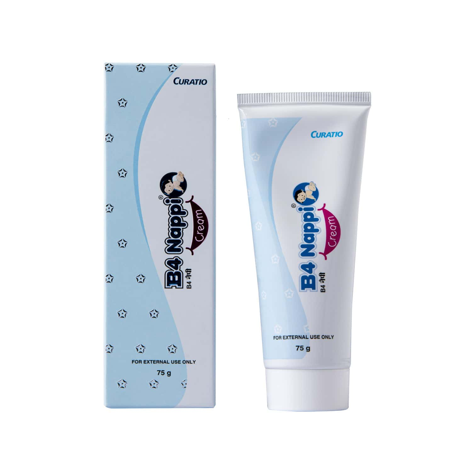 B4 Nappi  Baby Rash Cream  Tube Of 75 G
