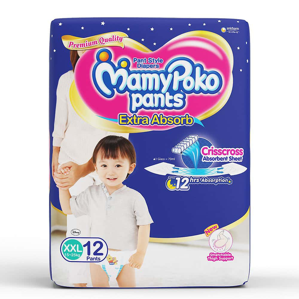 Mamypoko Pants Xxl Size Pack Of 12