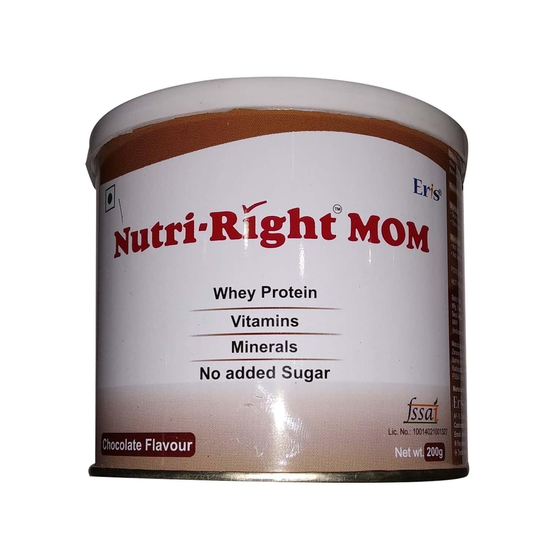 Nutriright - Mom Chocolate Powder - 200gm Tin