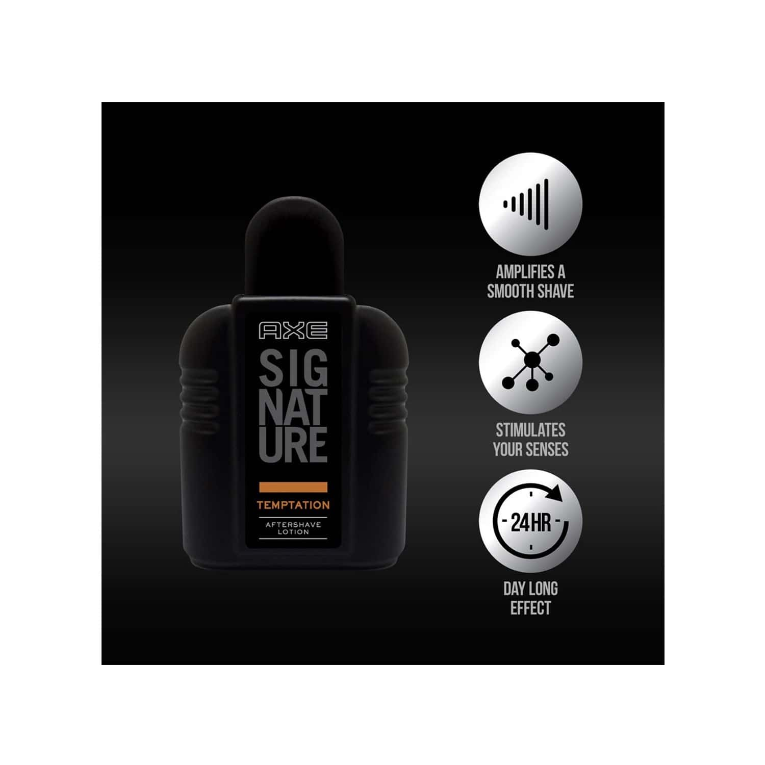 Axe Signature Dark Temptation After Shave Lotion Bottle Of 100 Ml