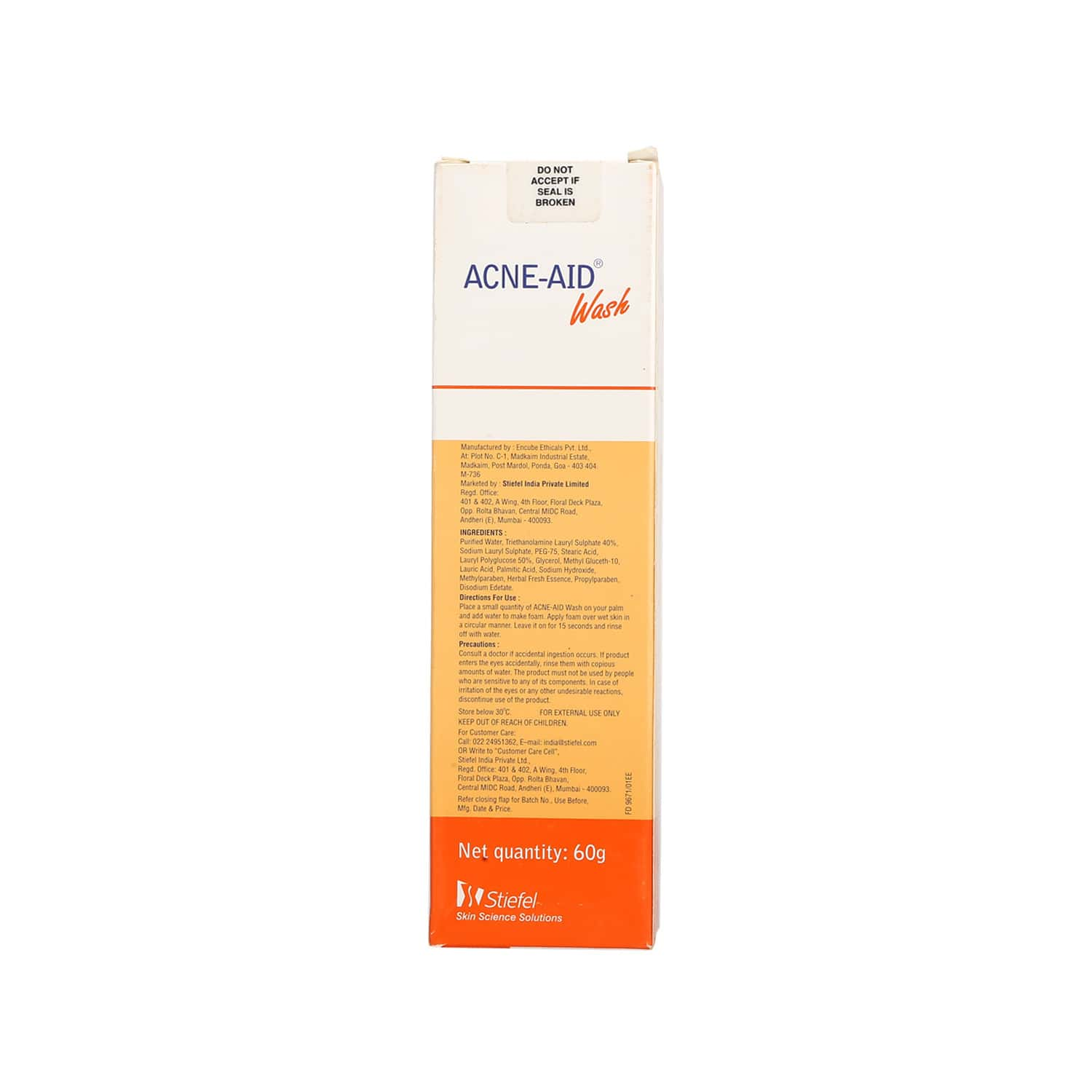 Acne Aid  Face Wash  Tube Of 60 G