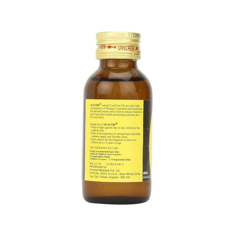 Seacod Cod Liver Oil 60ml