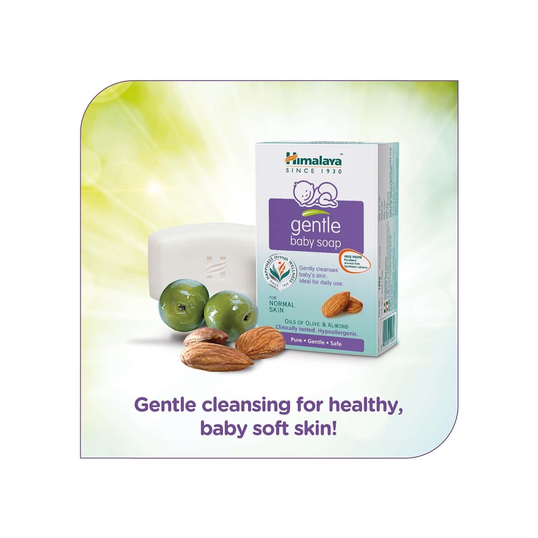 Himalaya Gentle Baby Soap (125gm)
