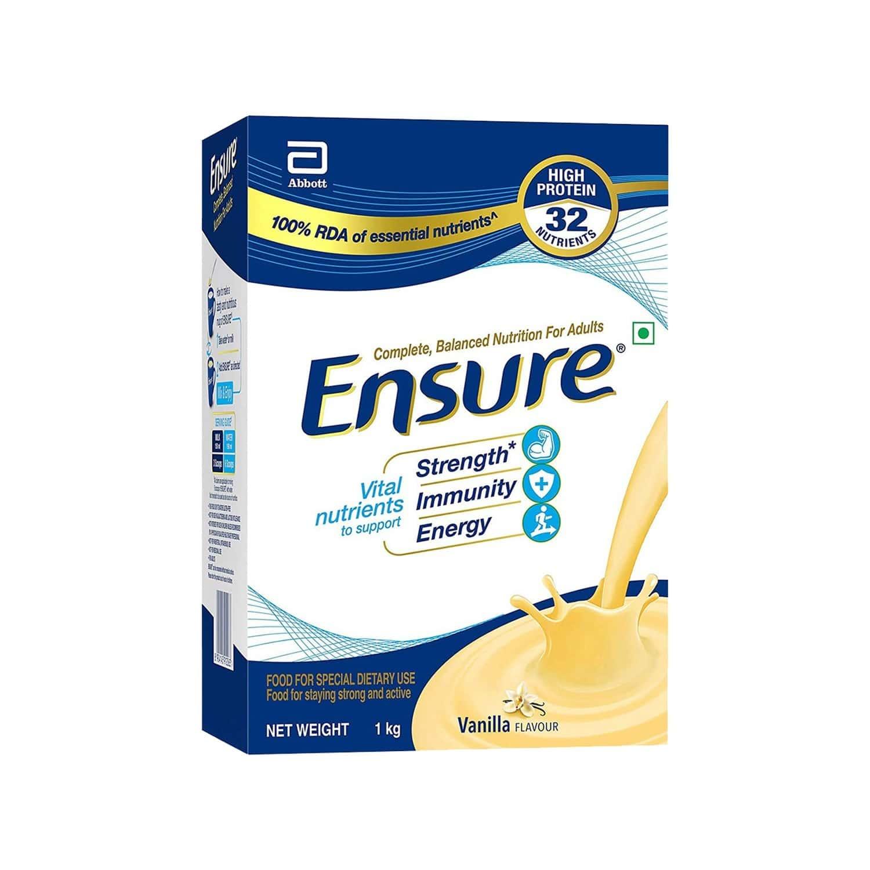 Ensure Fos Vanilla Nutrition Drink Bottle Of 1 Kg