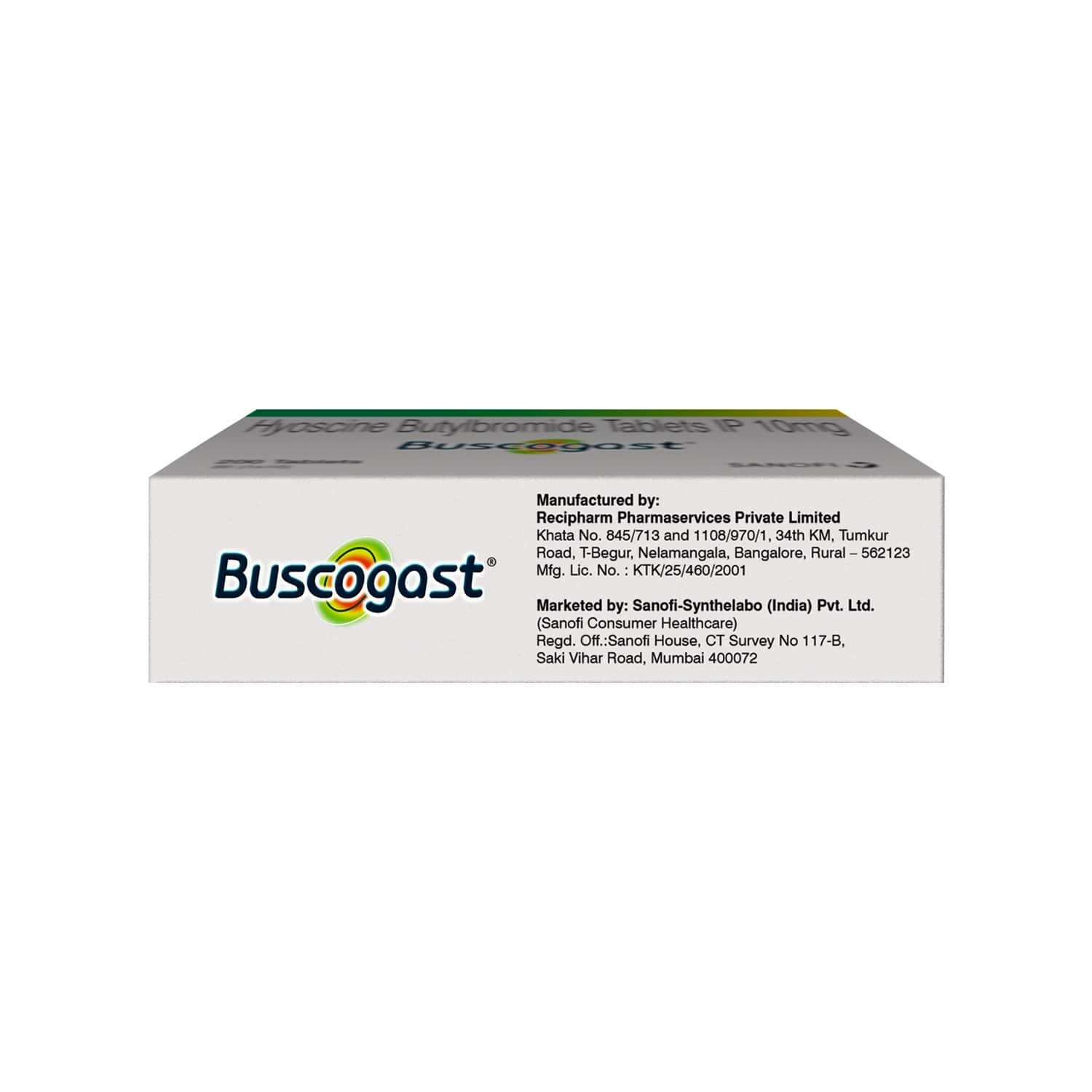 Buscogast Stomach Pain Specialist - Strip Of 10 Tablets