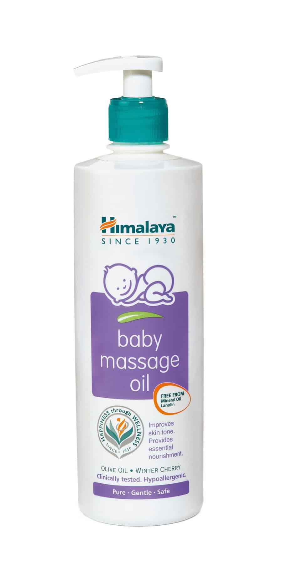 Himalaya Baby Massage Oil 500ml