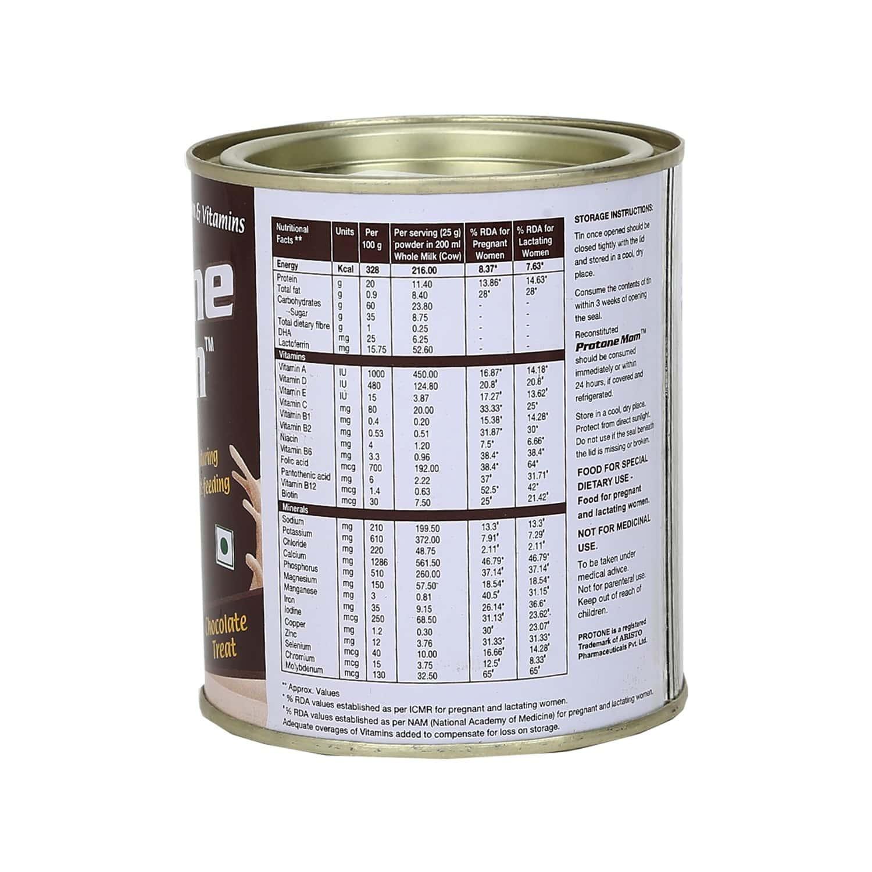 Protone Mom Choco Nutrition Drink Tin Of 200 G