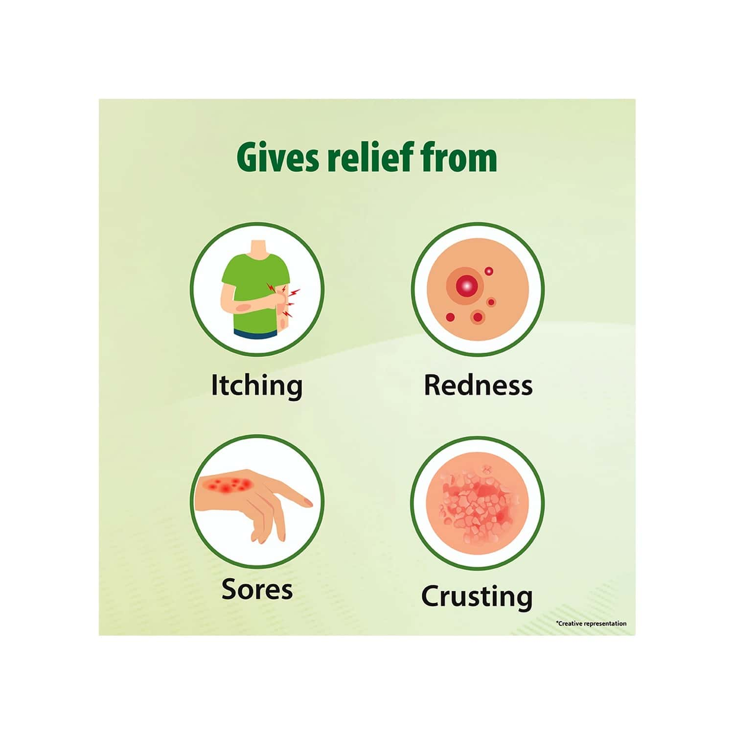 Tetmosol Medicated Soap For Relief From Skin Infections - Lime Fragrance - 100g