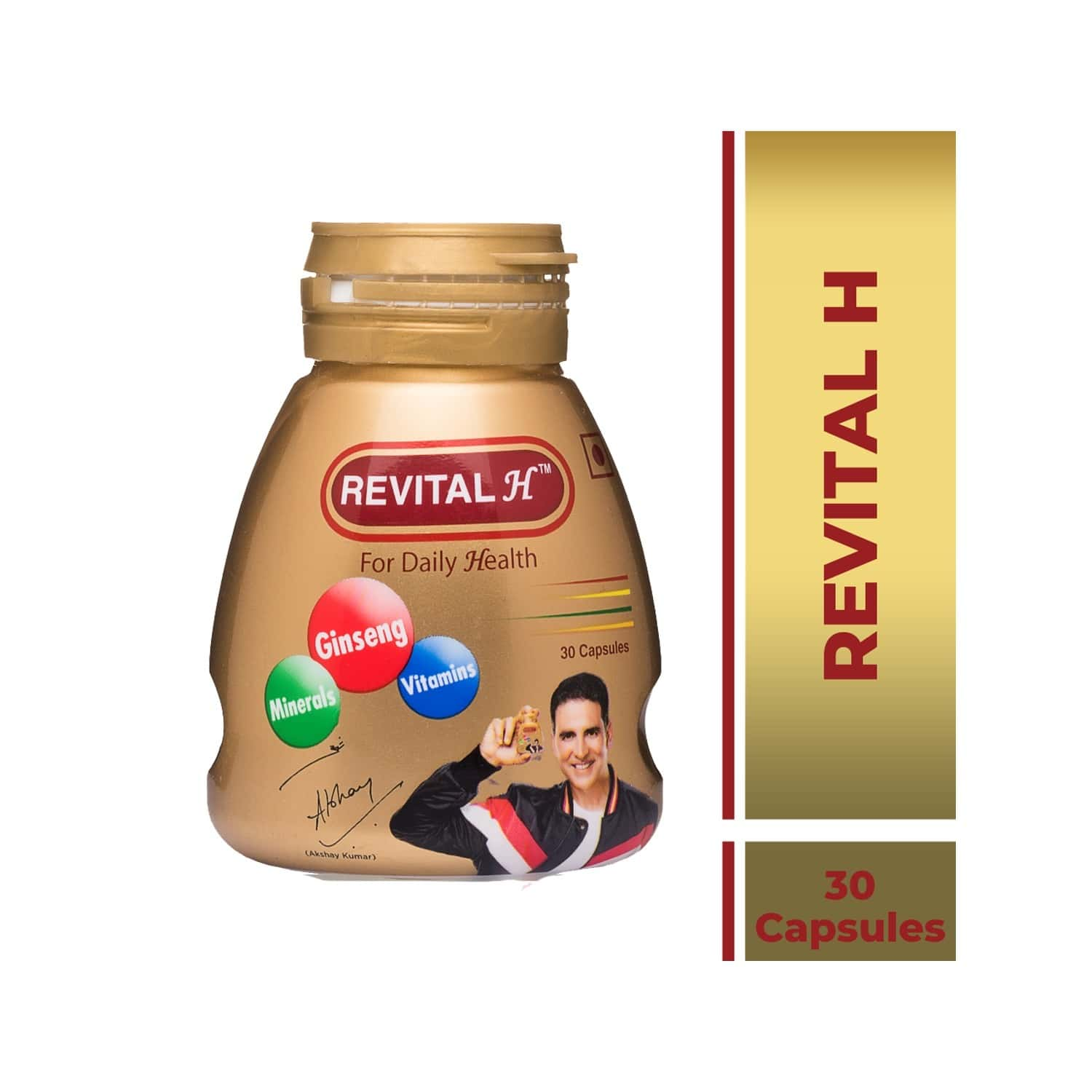 Revital H Health Supplement Capsules Bottle Of 30