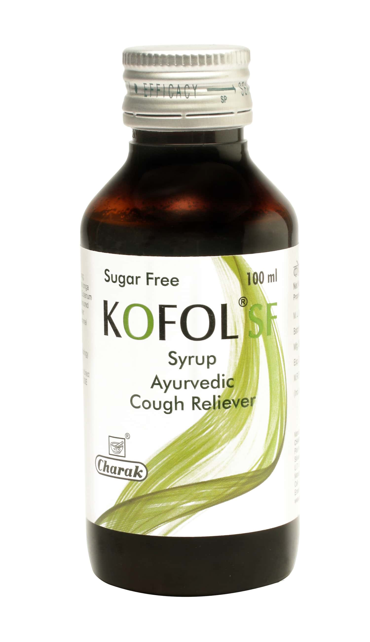 Kofol Sf Cough Syrup Bottle Of 100 Ml