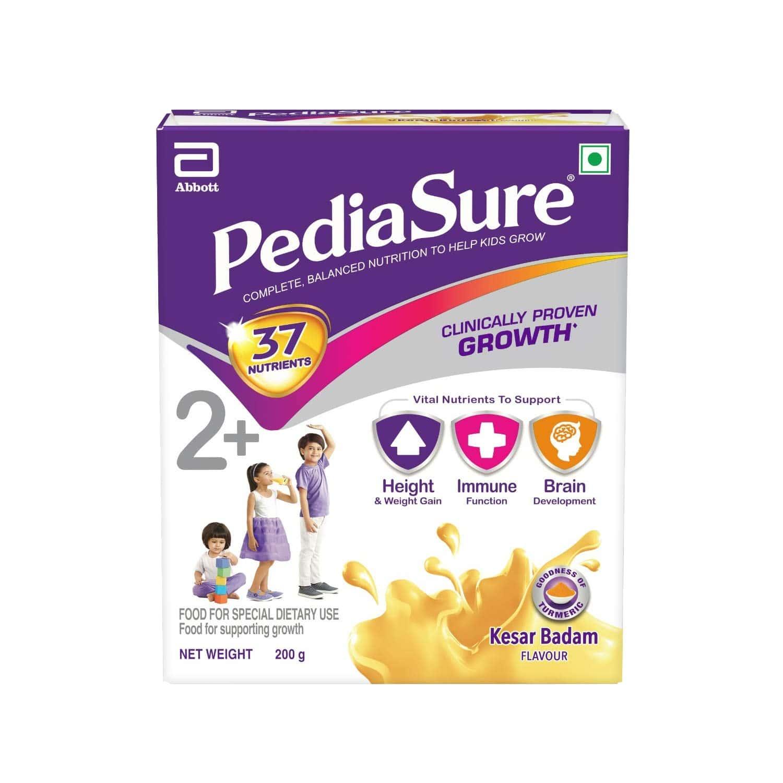 Pediasure Kesar Badam Child Nutrition Drink Refill Of 200 G