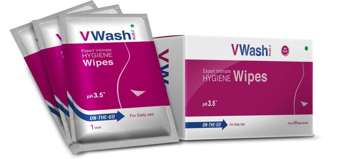 Vwash Plus Wipes Pack Of 10