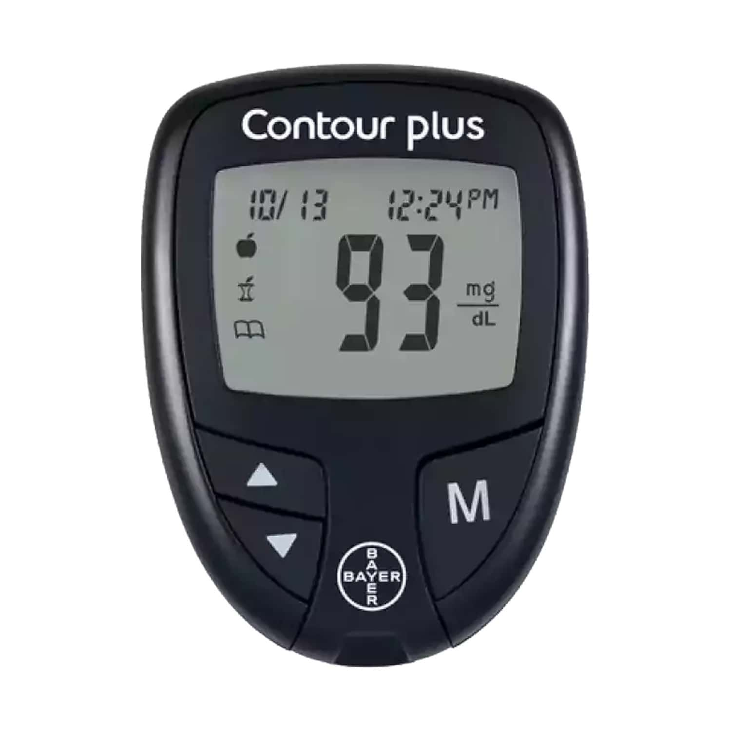 Contour Plus Glucometer Kit (with Free 25 Strips)