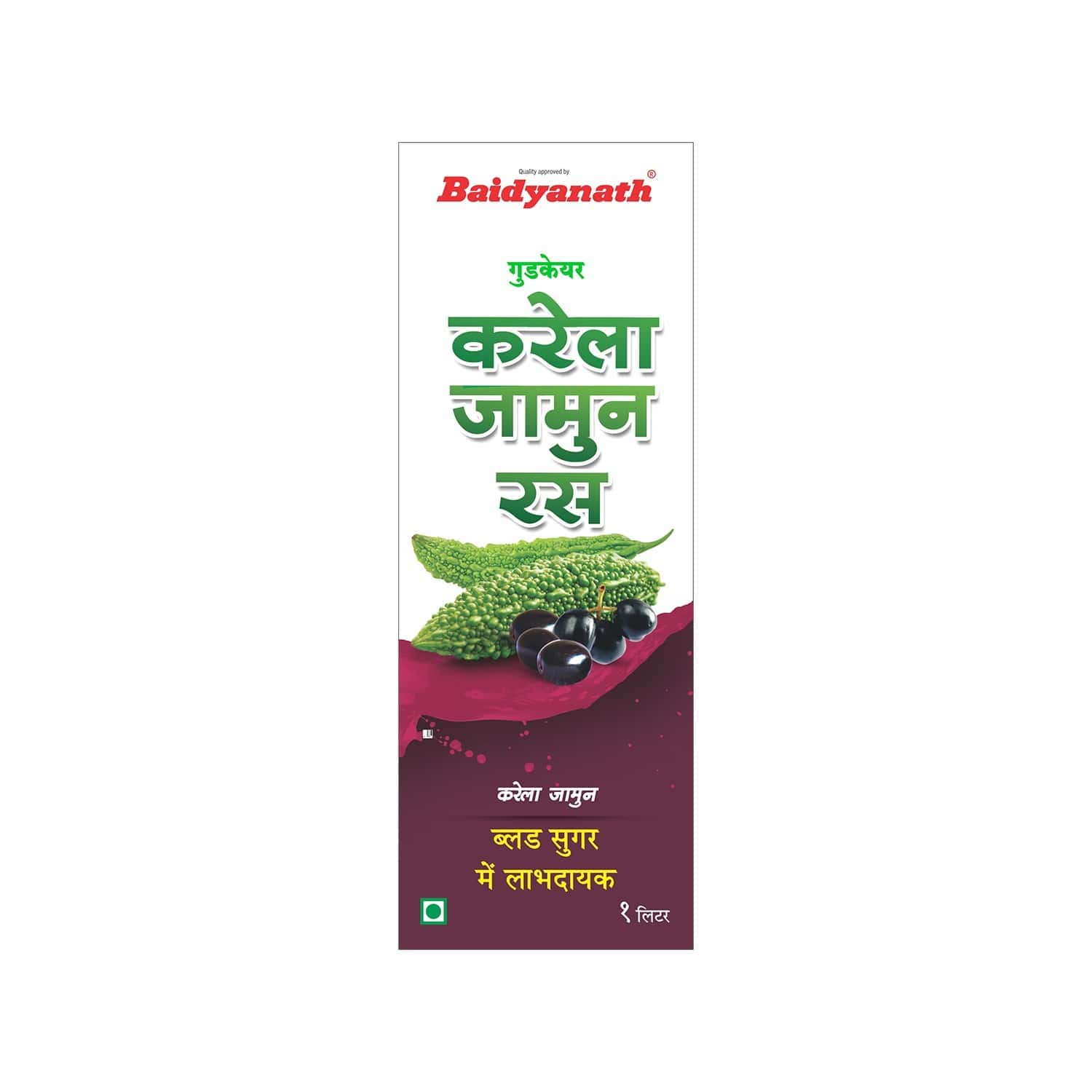 Baidyanath Karela Jamun Health Juice Bottle Of 1 L