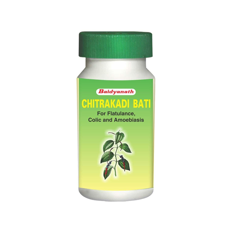 Baidyanath Chitrakadi Bati - 80 Tablets