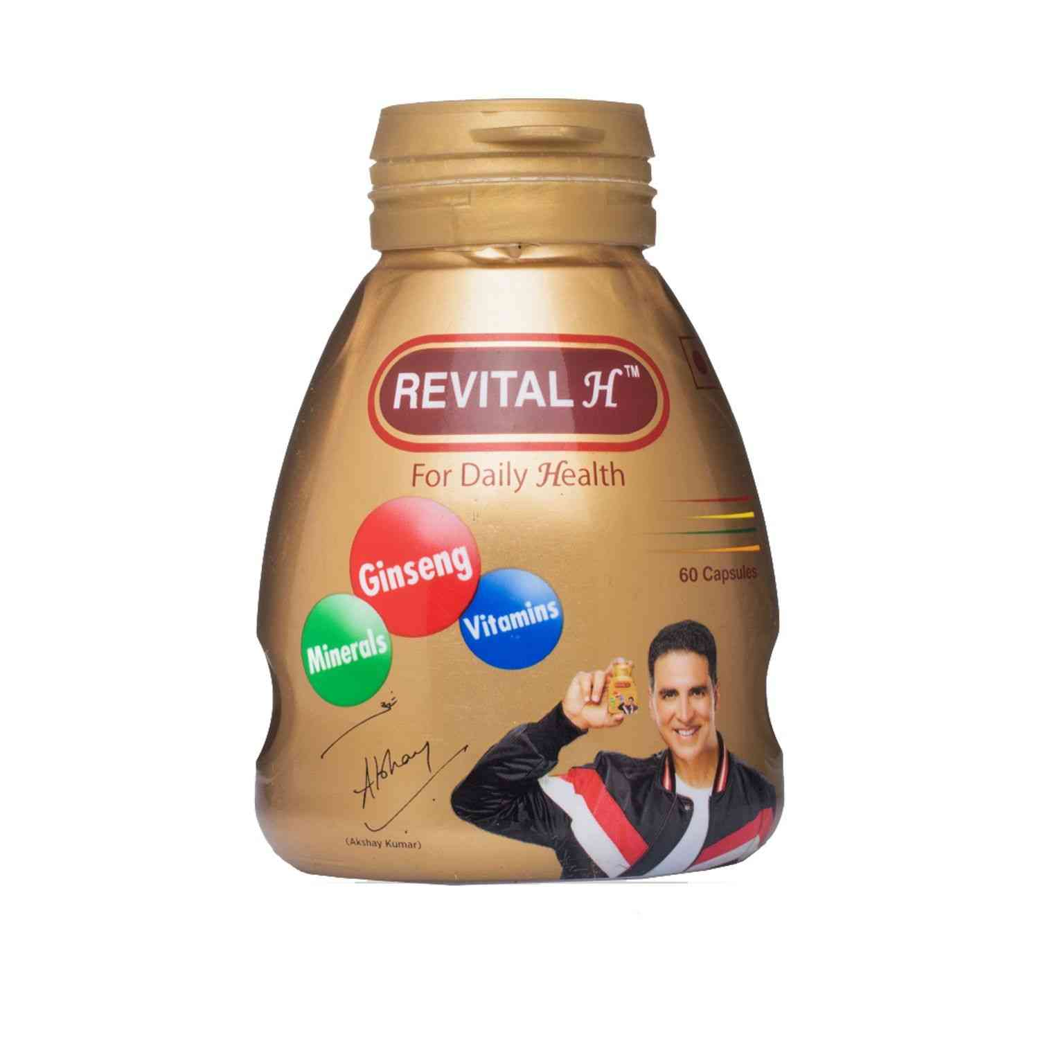 Revital H Health Supplement Capsules Bottle Of 60