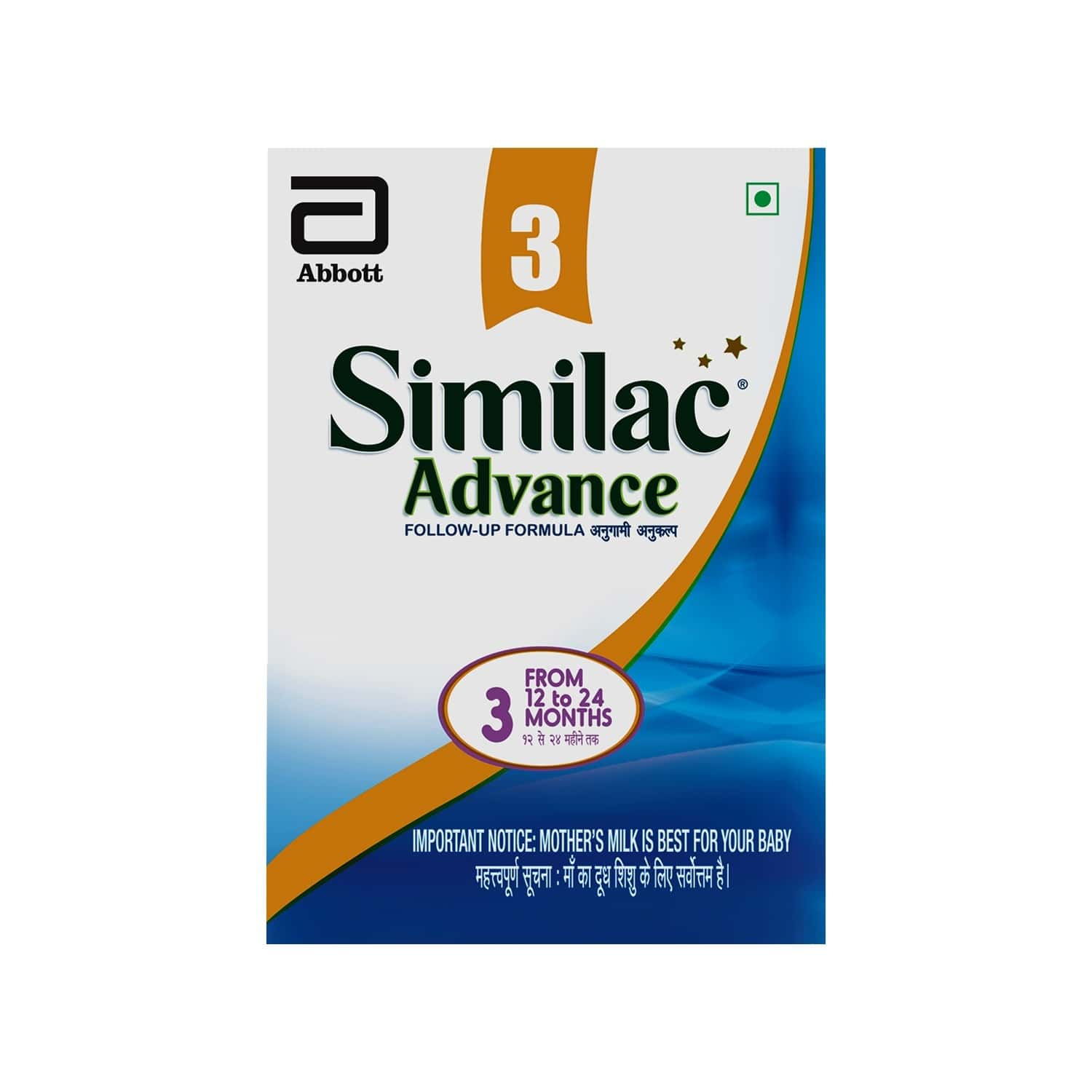 Similac Advance Baby Food Stage 3 Followup Infant Formula (after 12 Months) Refill Of 400 G