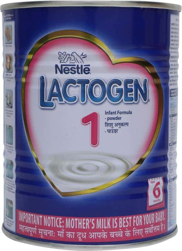 Nestle Lactogen 1 Infant Formula (upto 6 Months) Tin 400 Gm