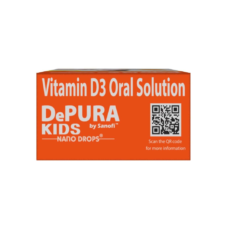 Depura Kids 400 Vit D Nano Vitamin Drops Bottle Of 15 Ml