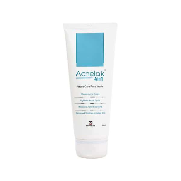 Acnelak 4 In 1  Face Wash  Bottle Of 100 Ml