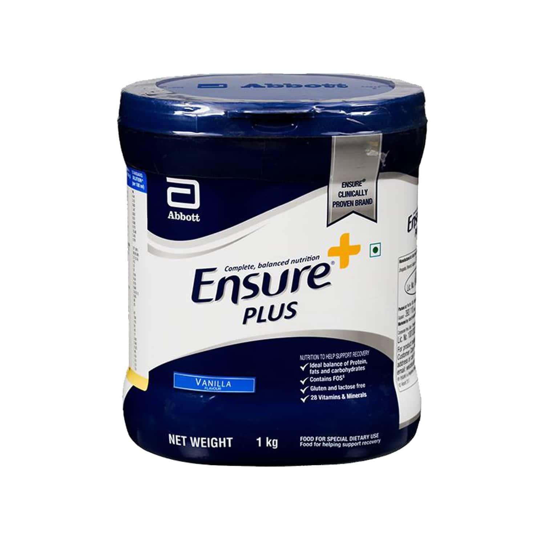 Ensure Plus Vanilla Nutrition Drink Jar Of 1 Kg