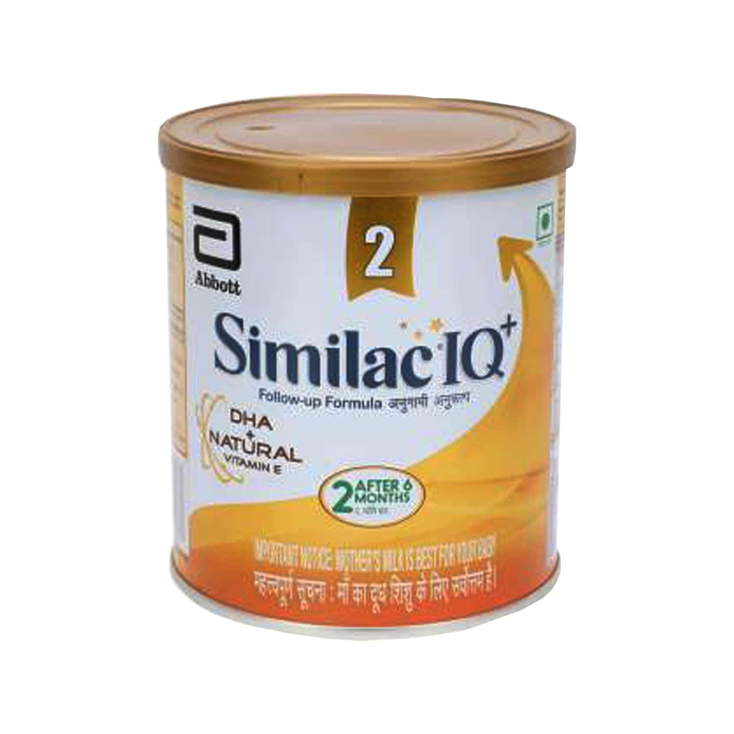 Similac Iq+ Baby Food Stage 2 Follow-up Formula With Dha + Natural Vitamin E (after 6 Months) Tin Of 400 G
