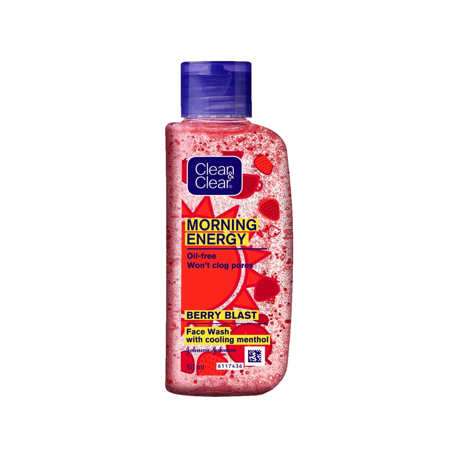 Clean And Clear Morning Energy Berry Facewash 50ml