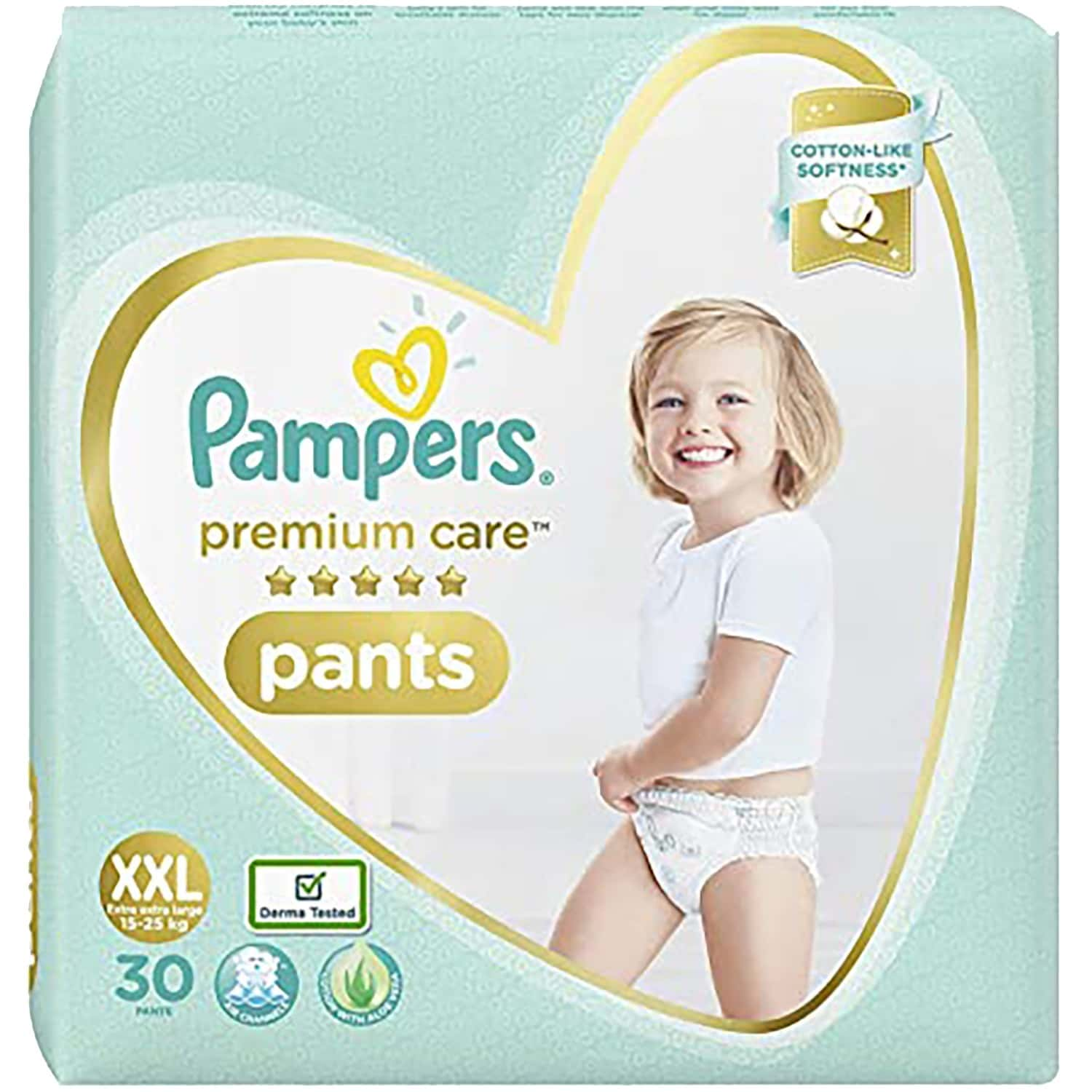 Pampers Premium Care Pants Diapers, Xx-large - 30 Count