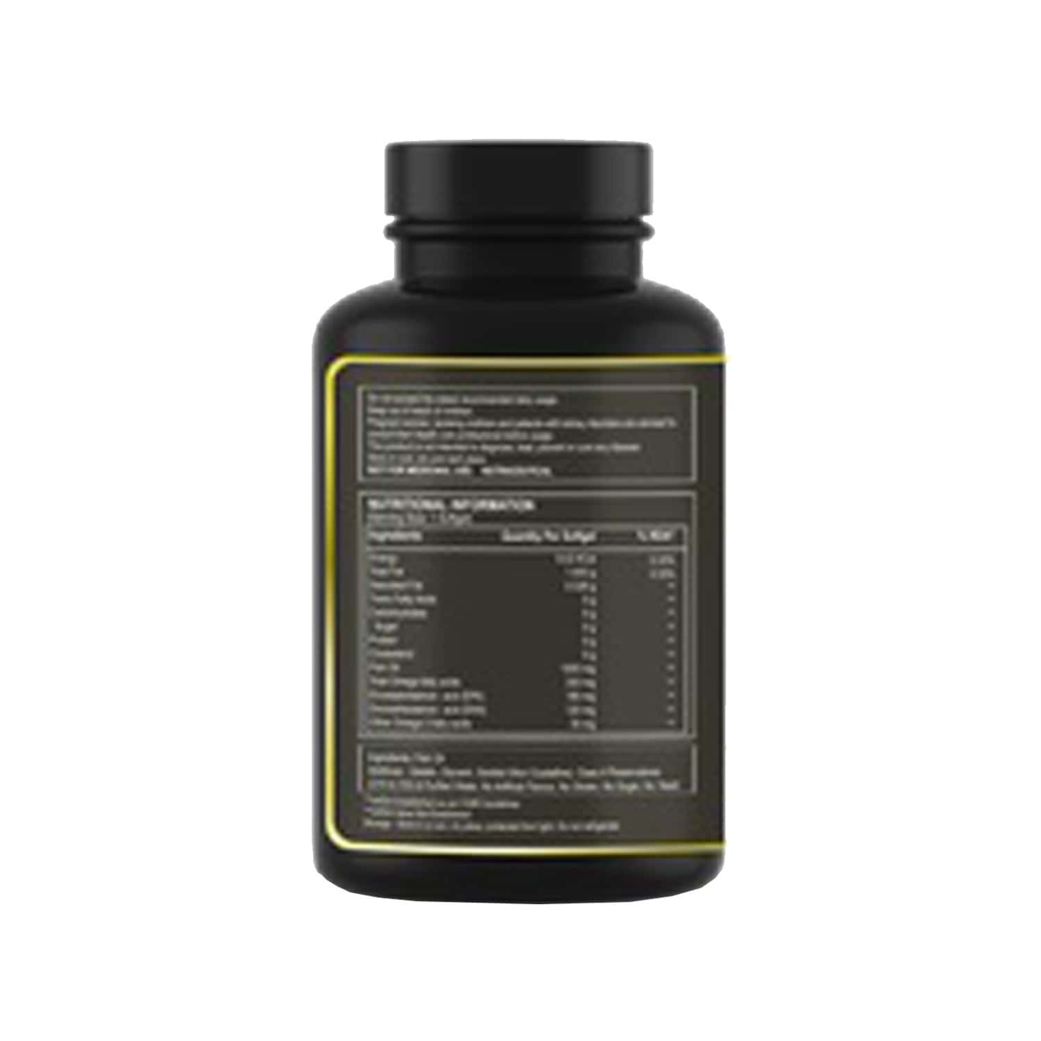Pure Nutrition Omega 3 Fish Oil With Epa And Dha For Brain - Heart And Eye Health - 60 Softgel Capsules