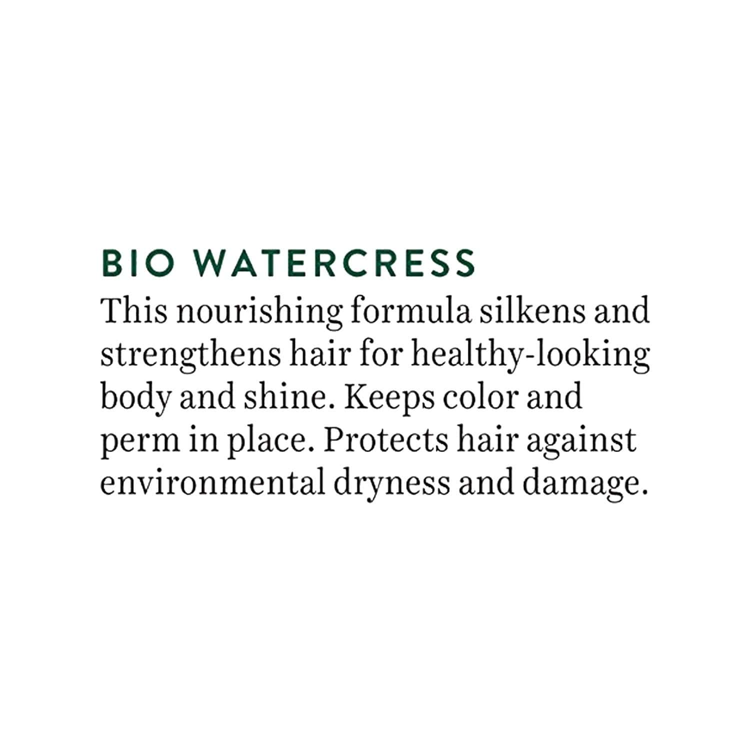 Biotique Bio Water Cress Fresh Nourishing Conditioner -for Dry Damaged & Color Treated Hair 180 Ml